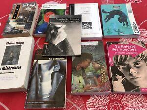 Livres de lecture pour le collège français secondaire