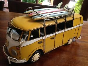 Retro Tin Model Combi Van