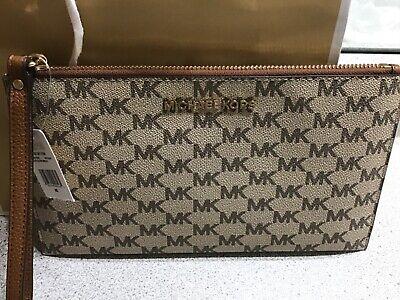 NWT Michael Kors Large Clutch/wristlet Bag RRP $140