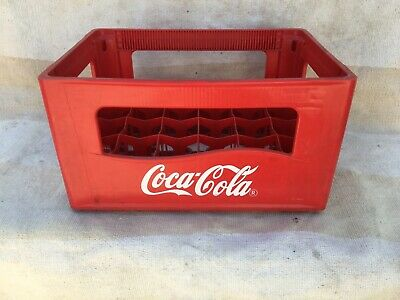 Coca Cola Bottle Crate, Red