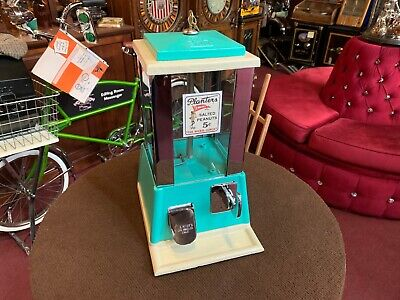 "1950's PLANTERS PEANUTS Bulk Vending Machine by SUN   ""Watch Video"""
