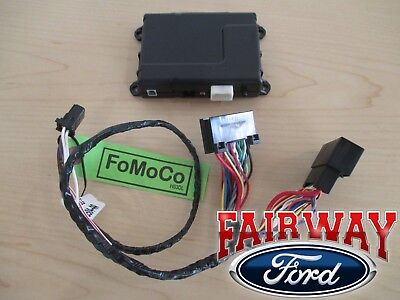 15 thru 18 F-150 OEM Ford Security System w/ Remote Start uses Factory Flip Key!