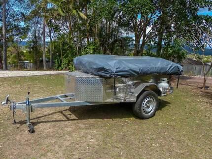 Camper Trailer Aluminium (light weight) 3 rooms