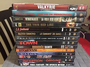 DVD movies and tv shows