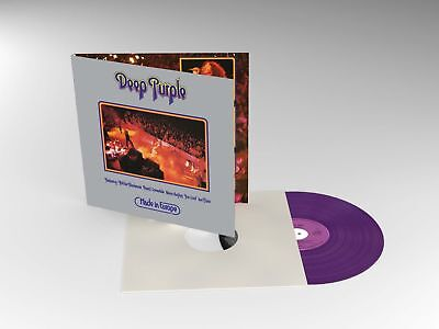 DEEP PURPLE MADE IN EUROPE LIMITED EDITION PURPLE VINYL LP (7/09/18)