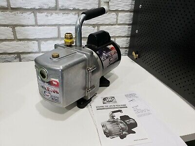 Jb Industries Dv-6e Eliminator 2-stage Vacuum Pump 6-cfm 12hp 120vac