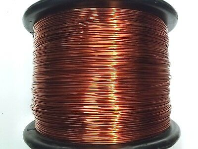 "Essex Magnet Wire, 12 AWG Gauge 0.0808"" 1 LB Enameled Copper Coil Winding"