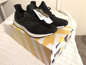 Adidas Ultra Boost 3.0 Core Black US9.5 Ridleyton Charles Sturt Area Preview
