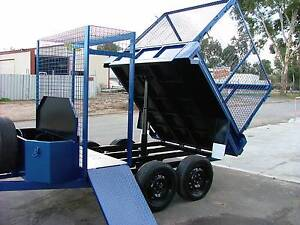 8X5 3/4 TIPPER TRAILER WITH STORAGE Adelaide CBD Adelaide City Preview