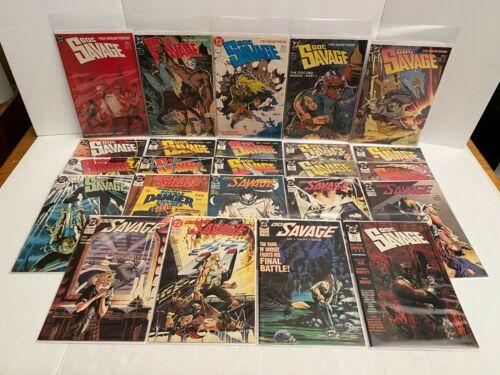 Doc Savage Lot Issues 1-17&19-24 Comic Books Comicbooks 1988-1990 DC Comics