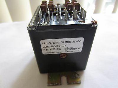 Vapor Corp Electromagnetic Relay Coil 37531650 36 Vdc Vdc 12A
