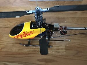 RC helicopter complete kit with tons of upgrades