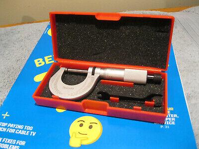 Starrett T230rl-1 Micrometer Wcase .0001 No Engravings Machinist Tools