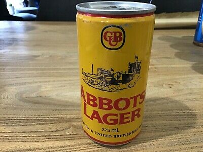 Antique Vintage Old Beer Can, Abbots Lager, Man Cave