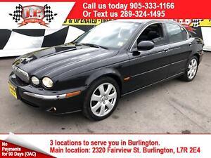 2005 Jaguar X-TYPE 3.0, Auto, Leather, Sunroof, AWD, 135, 000km