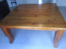 Solid Timber Square Dining Table Warner Pine Rivers Area Preview