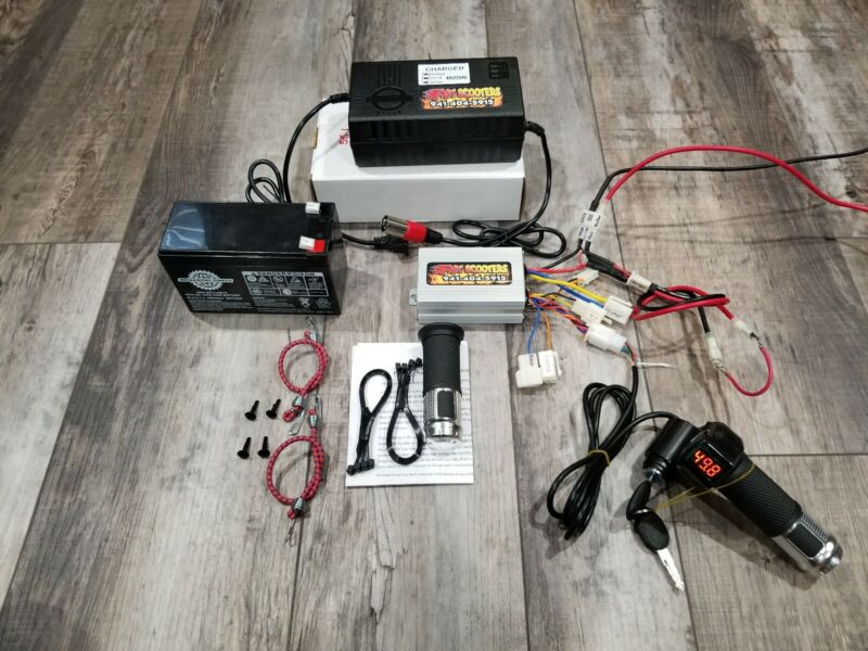 Razor Quad 500 Performance Kit 48v Performance Kit FAST Controller and Throttle