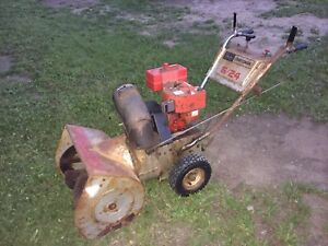 "Craftsman 6hp 24"" Snowblower $100"
