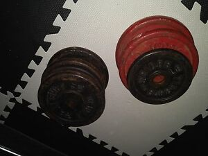 Free steel weights