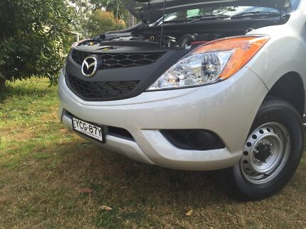 Mazda Bt50 front bumper - New with only 300km on car Tuncurry Great Lakes Area Preview