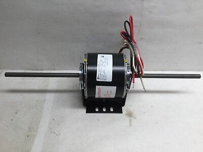 "Century 9636 Room Air Conditioner Motor 1/6HP 1050RPM 115V 60Hz 5.8Amps 8"" Shaft"