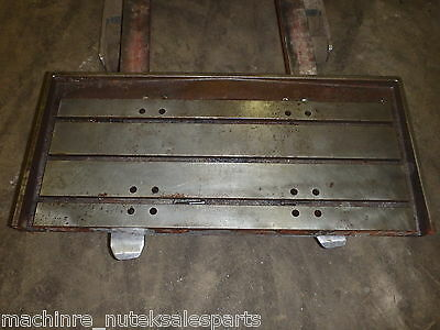 44 X 20 Steel Welding T-slotted Table Cast Iron Layout Plate 3 T-slot Weld