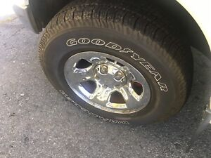 Dodge ram 17 inch wheels and tires