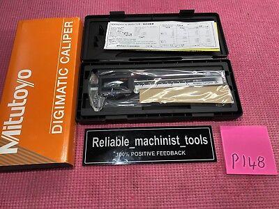 New Mitutoyo Japan Made 6 Inch Super Digital Caliper 500-784-cd67-s6ps P148