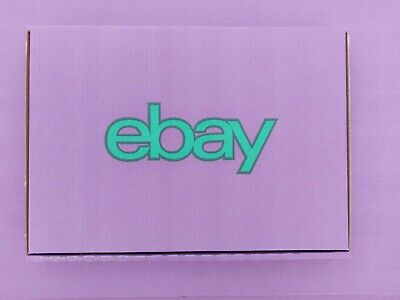 15 x eBay Branded Packaging Small Cardboard Box14-PU (237 x 171 x 25 mm) Purple