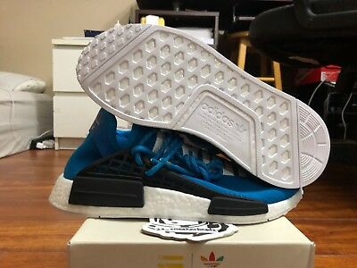 Adidas NMD Pharell Williams Human Race Blue sz 8.5 DS BB0618 100% Authentic