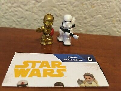 Star Wars Micro Force Series 6 First Order Flametrooper & C-3PO C3PO
