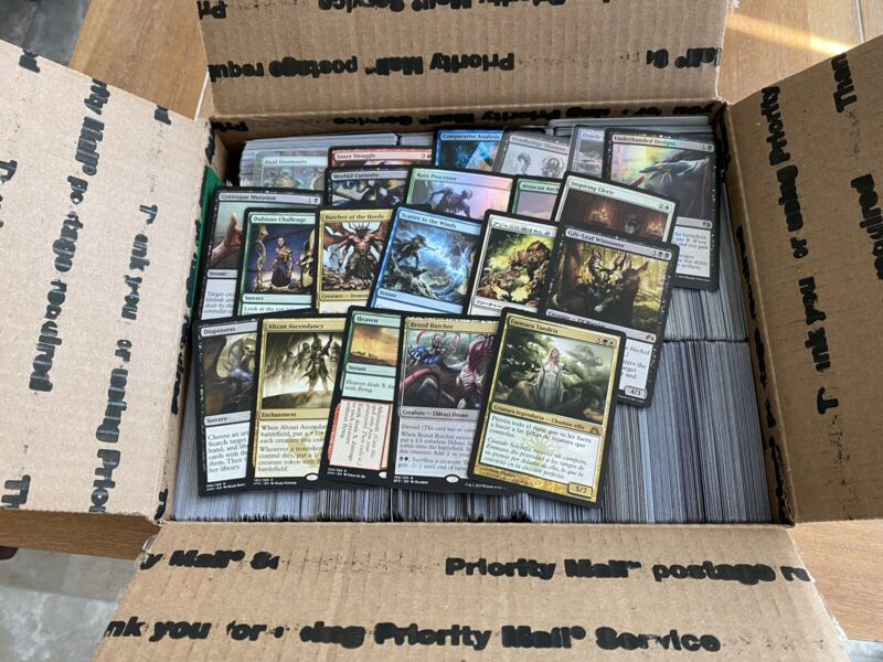 4000 Magic The Gathering Bulk Commons And Uncommons With Rares And Foils