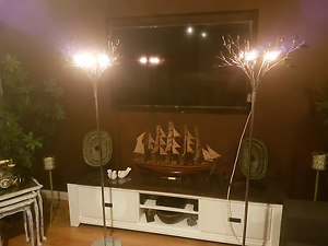 2 glass leaf lamp led light $100 Girrawheen Wanneroo Area Preview