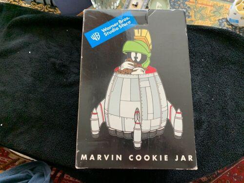 """1997 - Warner Bros. Studio Store """"Marvin the Martian"""" Cookie Jar. MINT!!!!"""