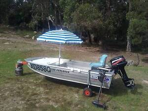 Quintrex 320 Explorer car topper Greenlands Southern Downs Preview