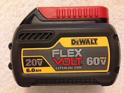 New Dewalt DCB606 Flexvolt 20V / 60V Max 6.0Ah Lithium Ion Battery Li-ion