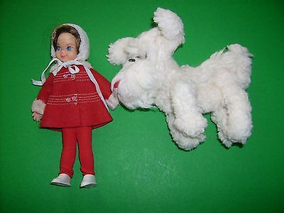 1966 Tutti Me & My Dog HTF dog #3554 Play set doll 1960's Vintage Barbie