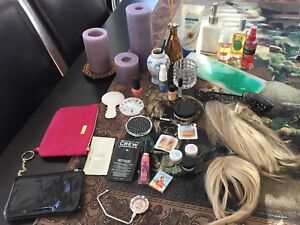 Makeup, hair pieces, beauty Lot all for $20