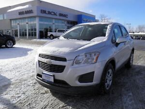 2014 Chevrolet Trax LS / $131.00 Bi-weekly for 72 mths