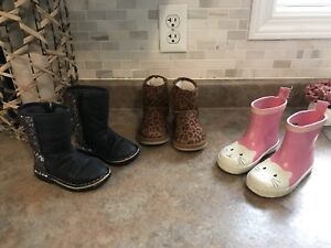 Girls Boots - Size 6
