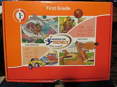 1st Grade Hooked on Phonics Learn to Read Educational Kit for Kids