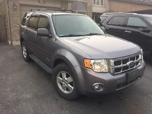 2008 Ford Escape XLT, fwd, one owner