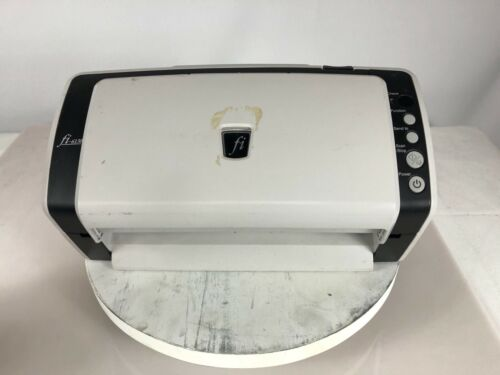 Fujitsu fi FI-6130 Flatbed Scanner NO POWER CORD