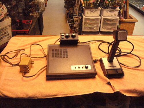 Vintage CPI Communications Desktop & Reach  Encorder & Shure CPI-SB-1 Microphone