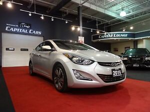 2016 Hyundai Elantra LIMITED / NAVIGATION / BACK UP CAMERA / BLU