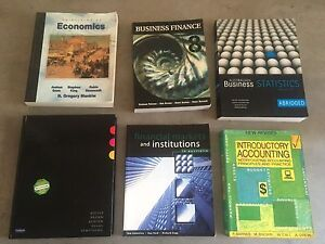 Accounting text books Revesby Bankstown Area Preview
