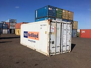 Refrigerated Shipping Container Miscellaneous Goods