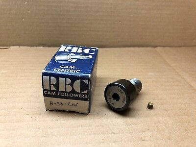 H-32-lw Rbc Bearings New In Box Cam-centric Cam Follower H32lw