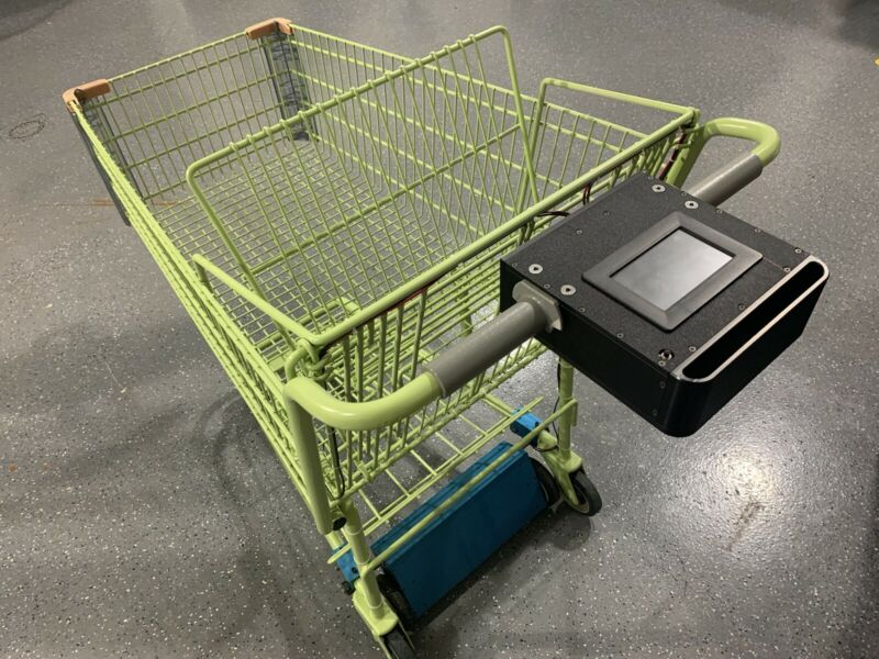A Revolutionary Shopping Cart With Exercise And Money Back Reward Features