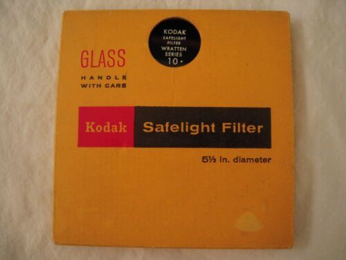 Kodak Safelight Filter Wratten Series 10